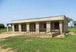 The completed school in N'doffane Bourre!