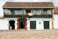 A glimpse of the Villa de Leyva architecture.